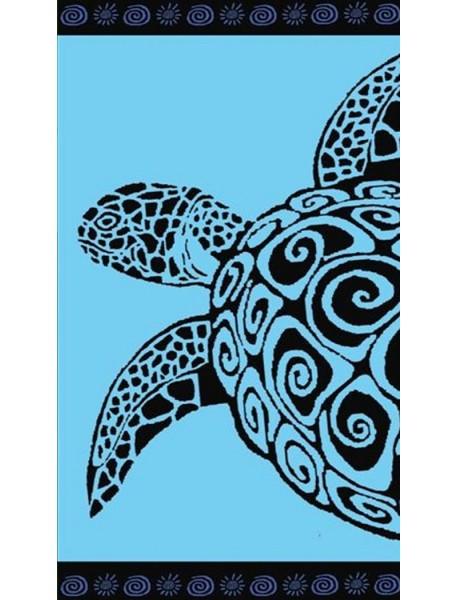 Serviette de plage Turquoise turtle