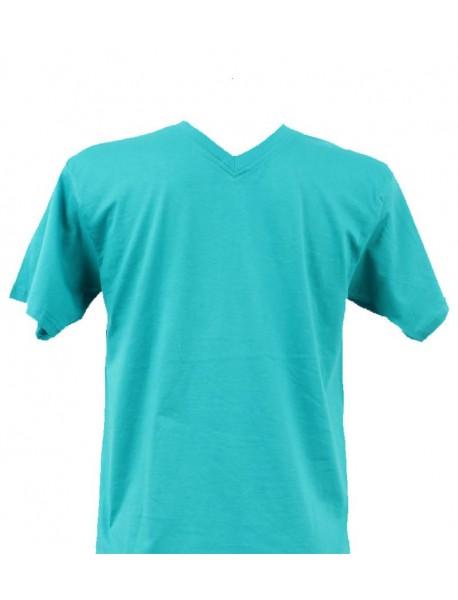 T-shirt homme lagon col V