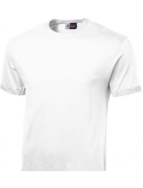 T-shirt homme blanc col rond