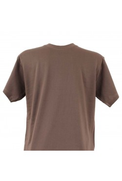 T-shirt homme gris col rond