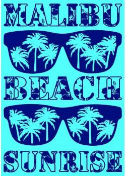 Maxi drap de plage Malibu Sunglass