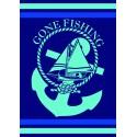 Drap de plage XXL Gone Fishing