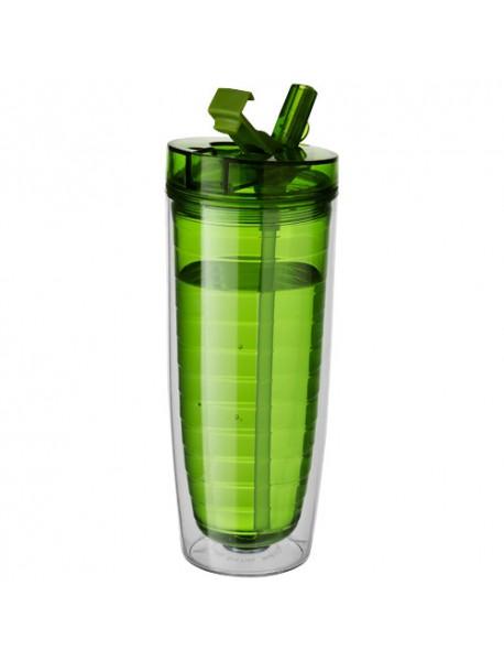 Bidon Isotherme Sipper Vert Translucide