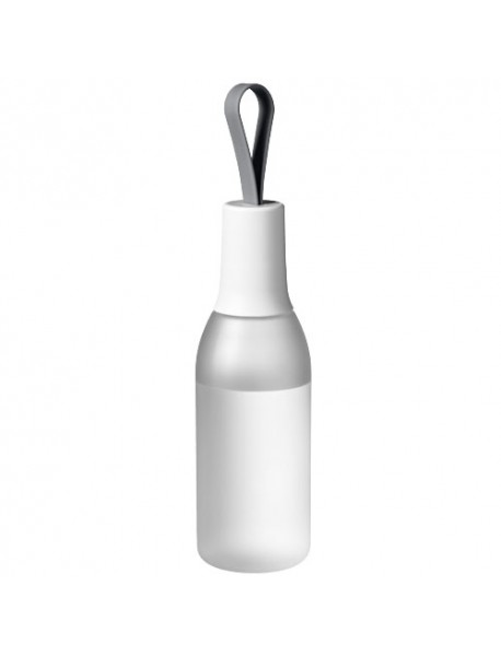 Bouteille Flow Frosted Clear Blanc