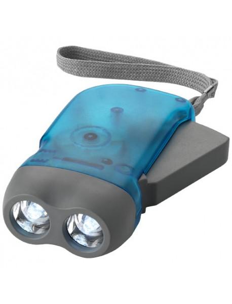 Lampe torche Dynamo Virgo Bleu