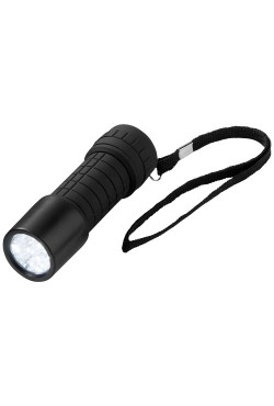Torche 9 LED Noir