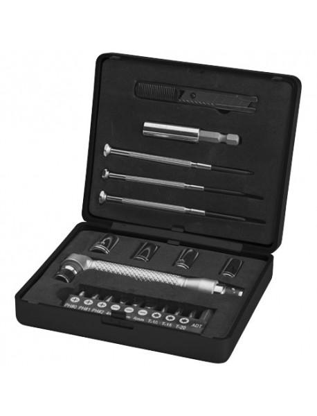 Boîte à outils 20 pièces Noir