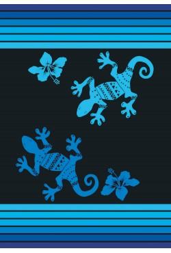 Drap de plage duo Blue Caraibes