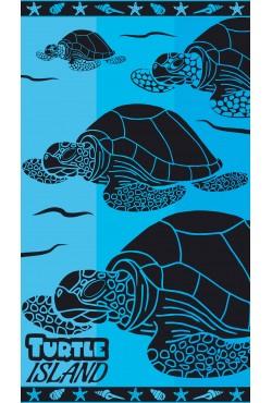 Drap de plage Turtle Island