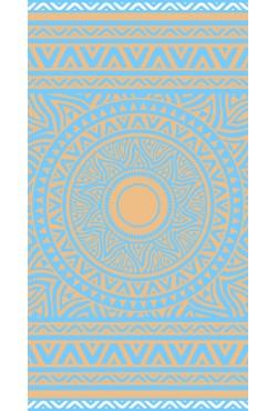 Serviette de plage Azul