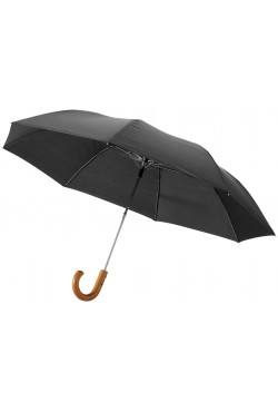 """Parapluie automatique 2 sections 23"""", noir"""