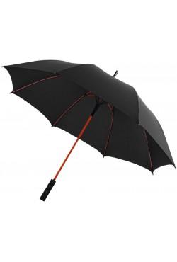 """Parapluie tempête à ouverture automatique 23"""" Spark, noir / rouge"""