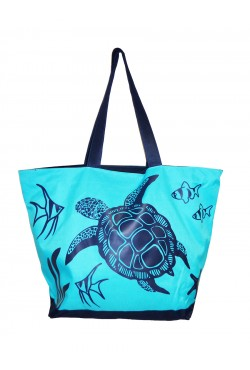 Sac de plage Navy Turtle