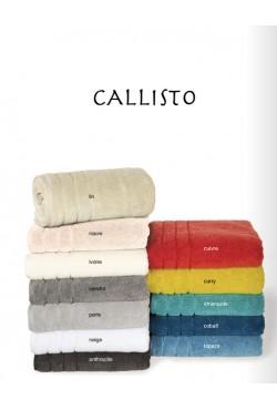 Linge de bain Callisto couleur Nacre