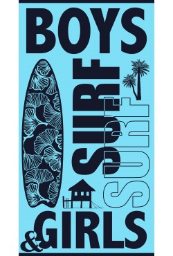 Serviette de plage Boys & Girls