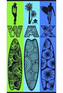 Serviette de plage Wax & Surf