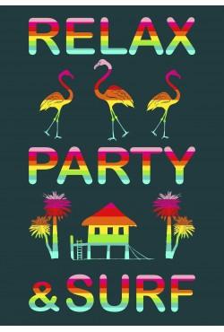 Drap de plage XXL Partytime